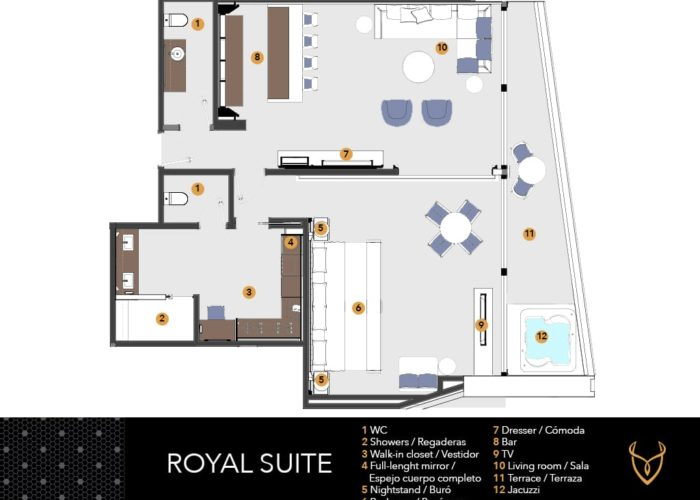 Desire Riviera Maya Pearl Resort   Desire Royal Suite