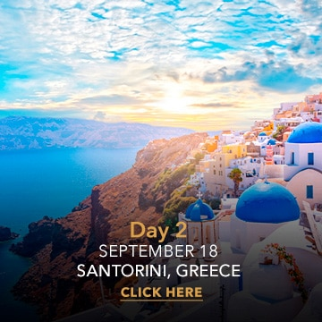Santorini   Desire Greek Islands Cruise 2022 ITINERARY