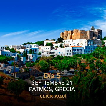 Patmos   Desire Greek Islands Cruise 2022 ITINERARY
