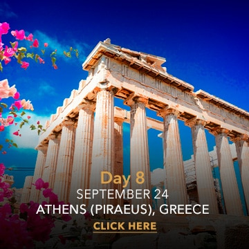 Athens   Desire Greek Islands Cruise 2022 ITINERARY